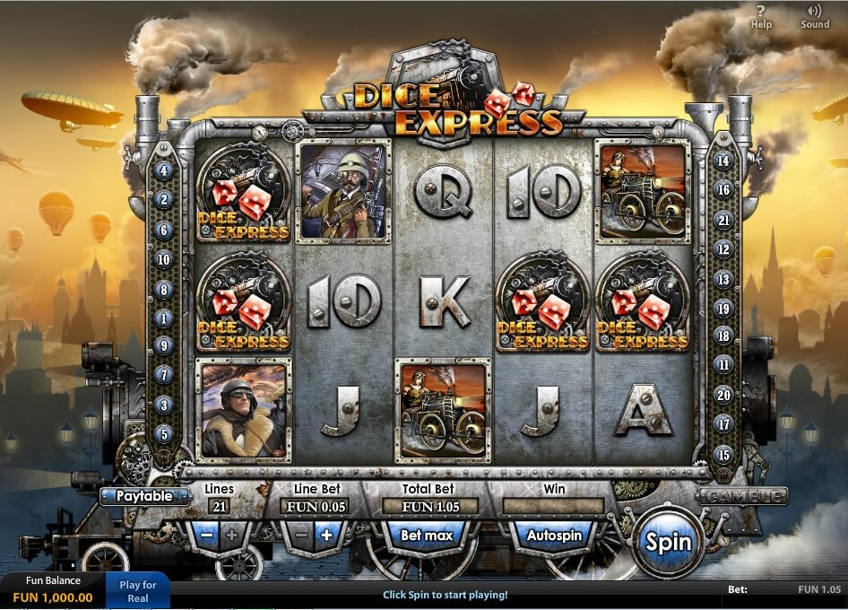 Dice Express HD – Amazing Graphics Online Slots