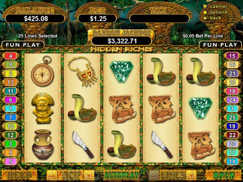Hidden Riches Video Slot