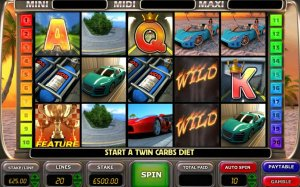 Super Cars Online Slot Game