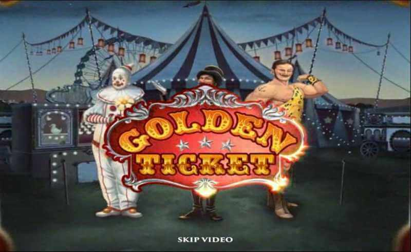 Circus Themed Online Slot Game Golden Ticket