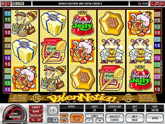 The Pollen Nation Video Slots Game Review