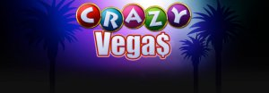 Real Time Gaming's Crazy Vegas Online Slots Reviewed